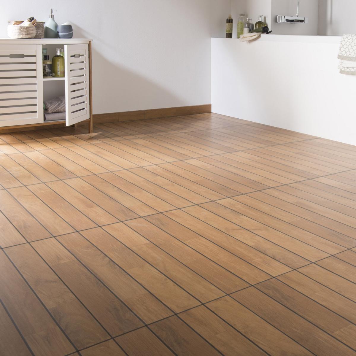 Poser un carrelage imitation bois - Atwebster.fr - Maison et mobilier