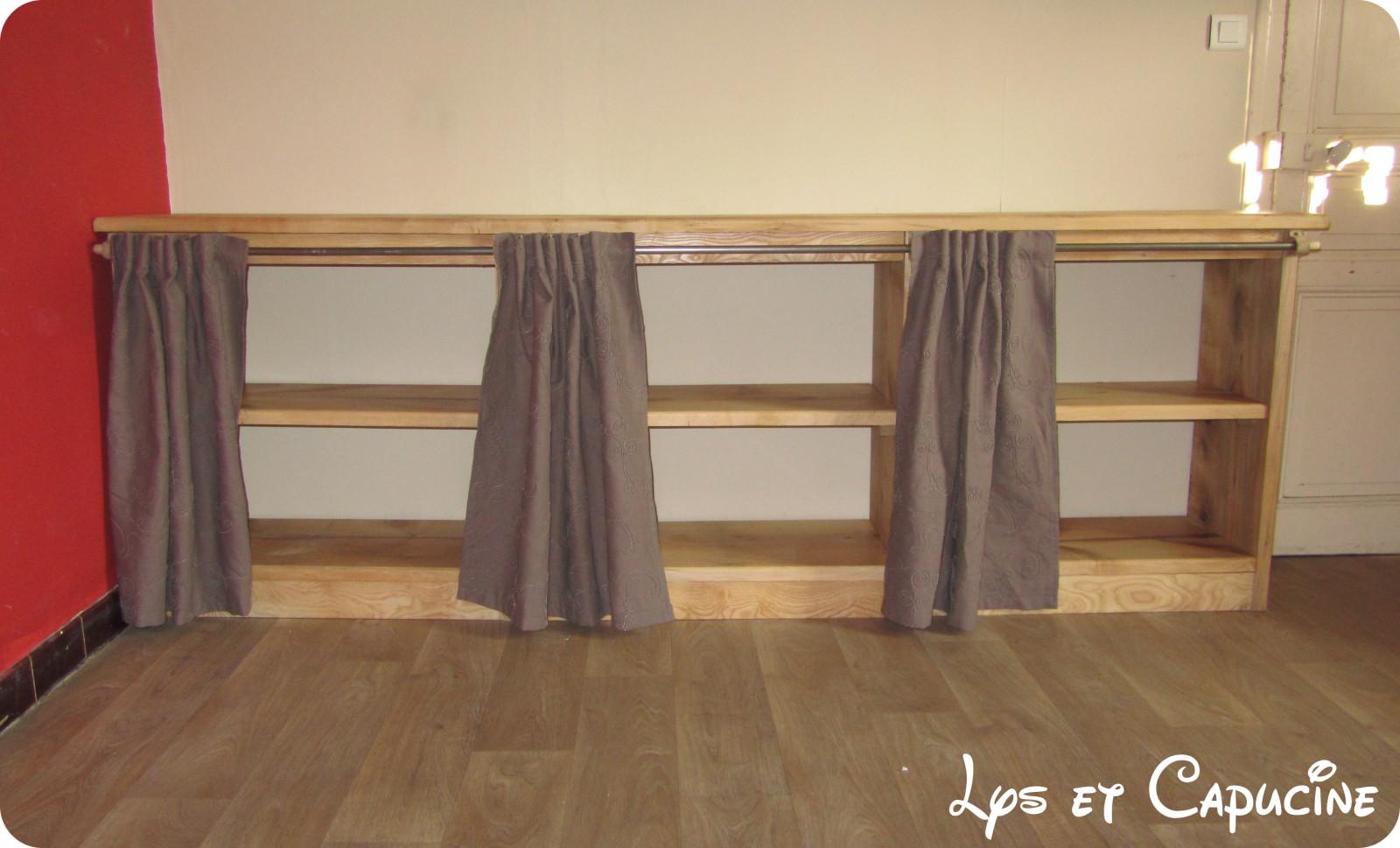 fabriquer un meuble de cuisine avec plan de travail Plan pour fabriquer armoire de cuisine