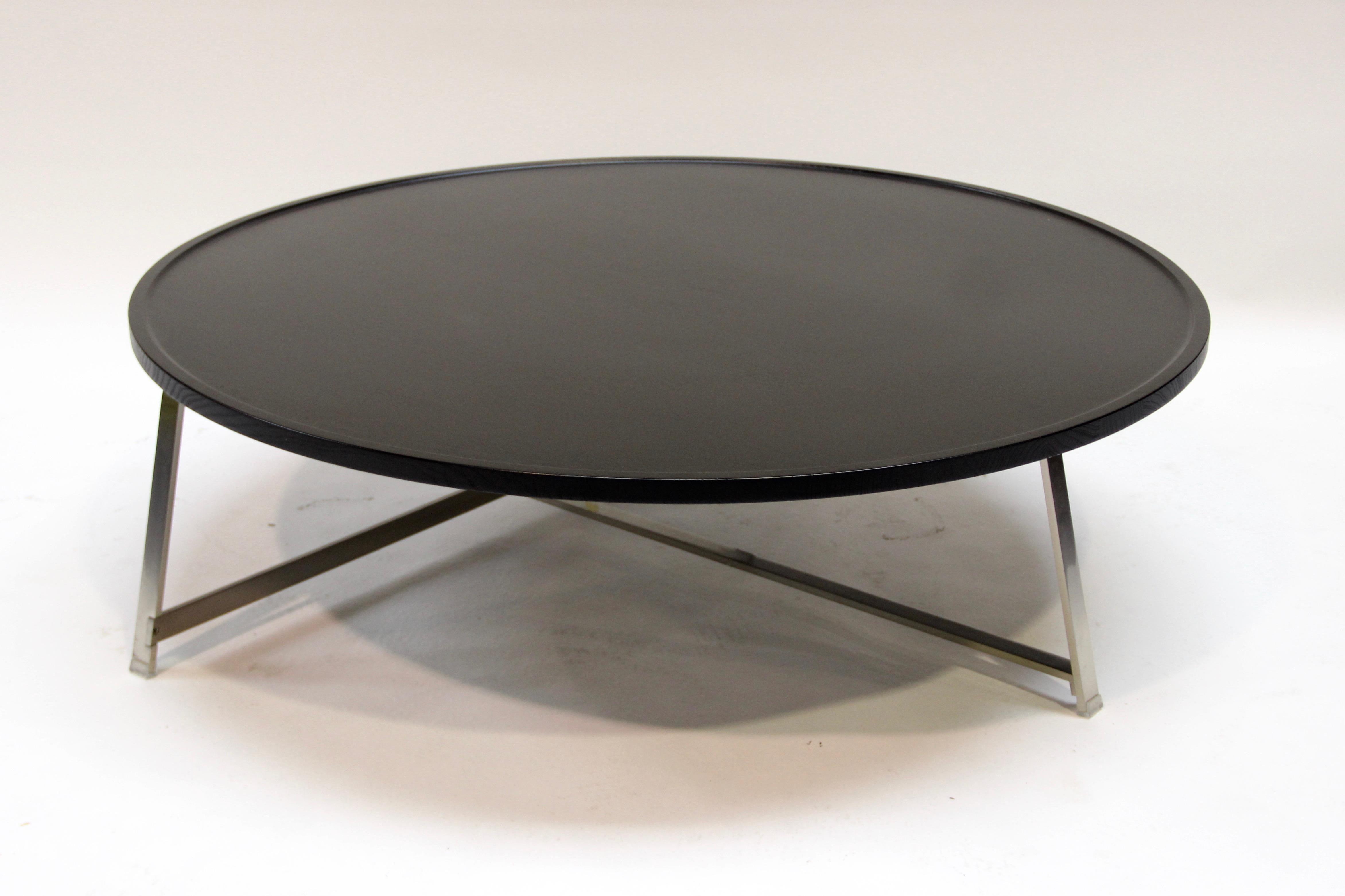 Table basse ronde grande