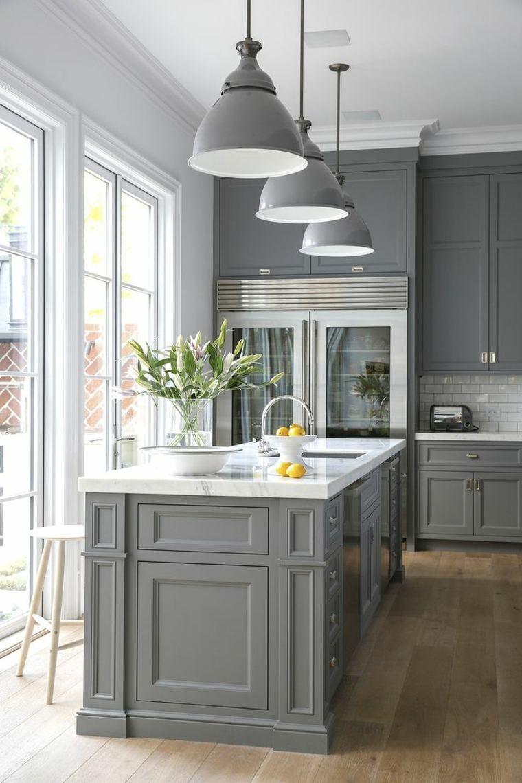 Idee peinture meuble cuisine - Atwebster.fr - Maison et mobilier