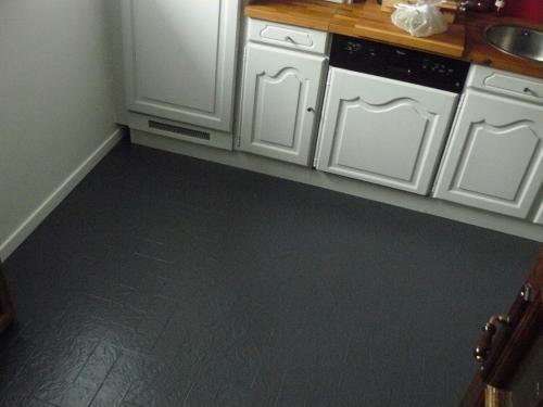 refaire carrelage sol cuisine maison et. Black Bedroom Furniture Sets. Home Design Ideas