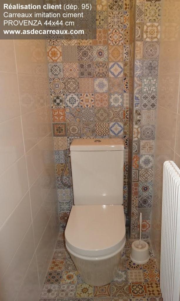 Carrelage carreaux de ciment wc maison et - Materiel pour carrelage ...