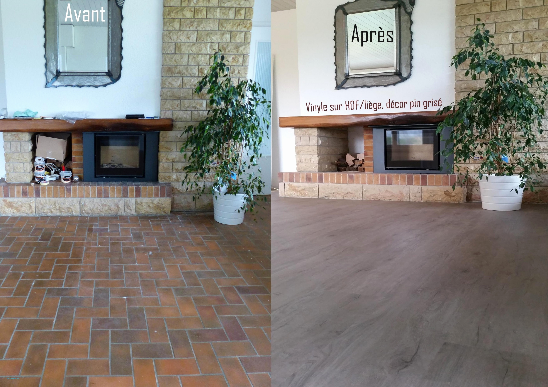 recouvrir un ancien carrelage au sol. Black Bedroom Furniture Sets. Home Design Ideas
