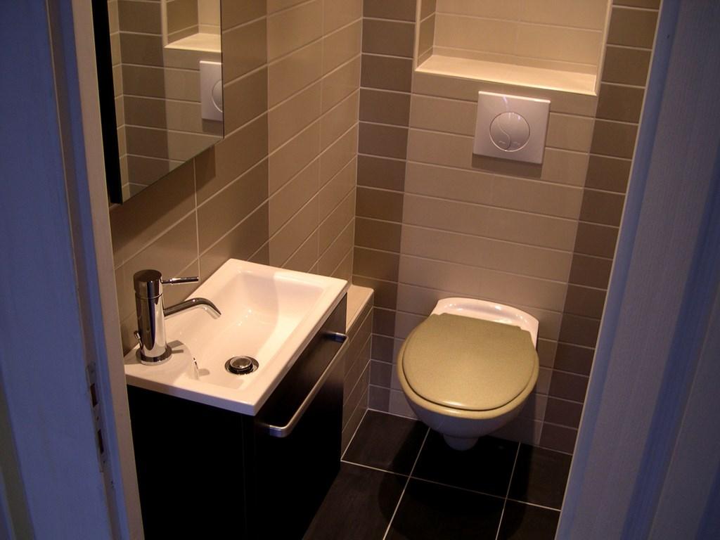 Carrelage mural lavabo wc