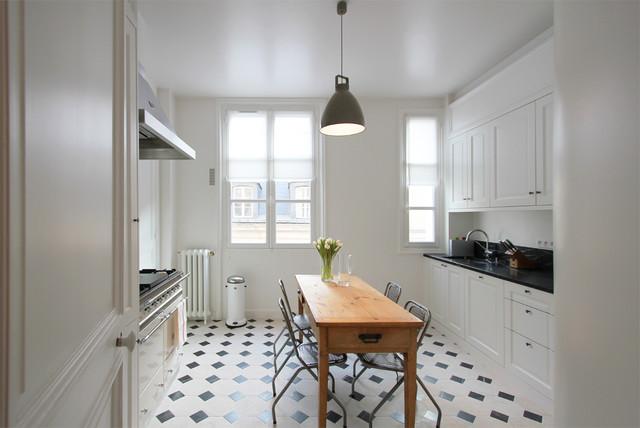Carrelage sol cuisine cabochon maison et mobilier - Carrelage cuisine sol ...
