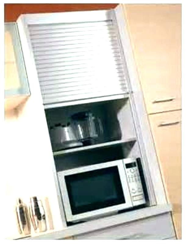 meuble haut de cuisine avec rideau coulissant atwebster. Black Bedroom Furniture Sets. Home Design Ideas