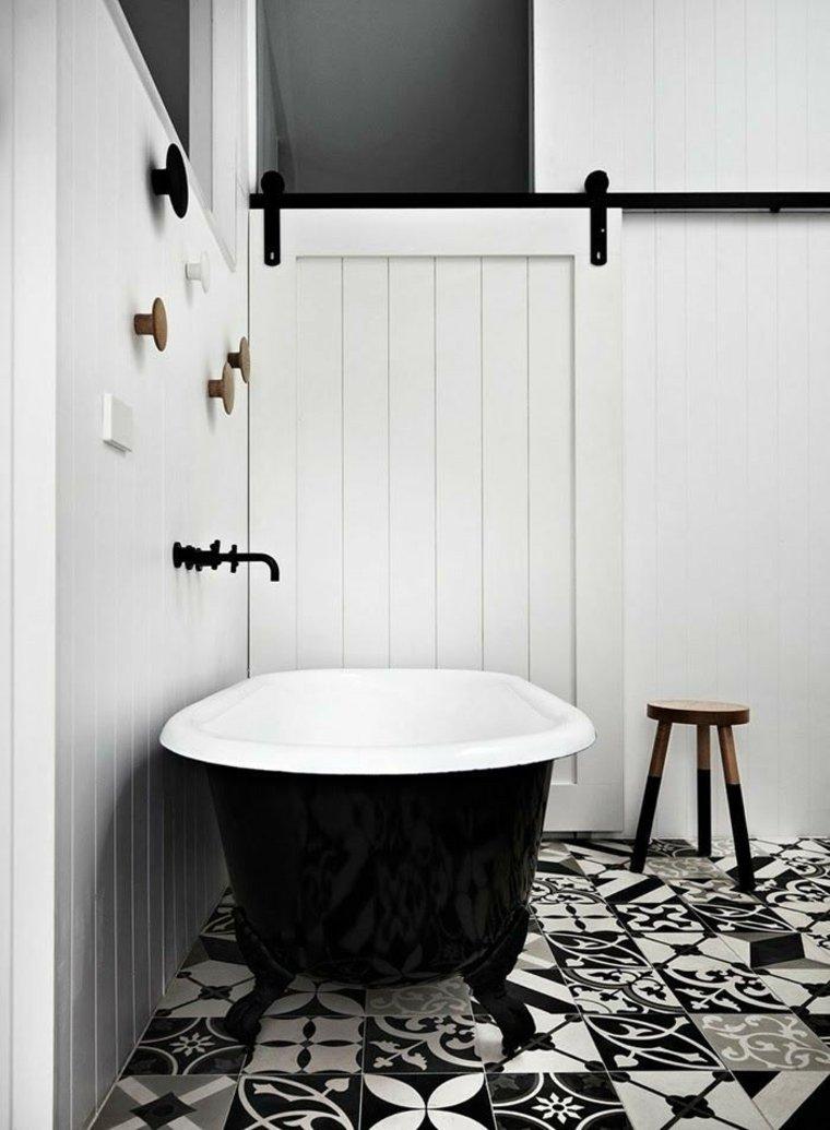 Carrelage Noir Blanc Salle De Bain Atwebster Fr Maison Et Mobilier