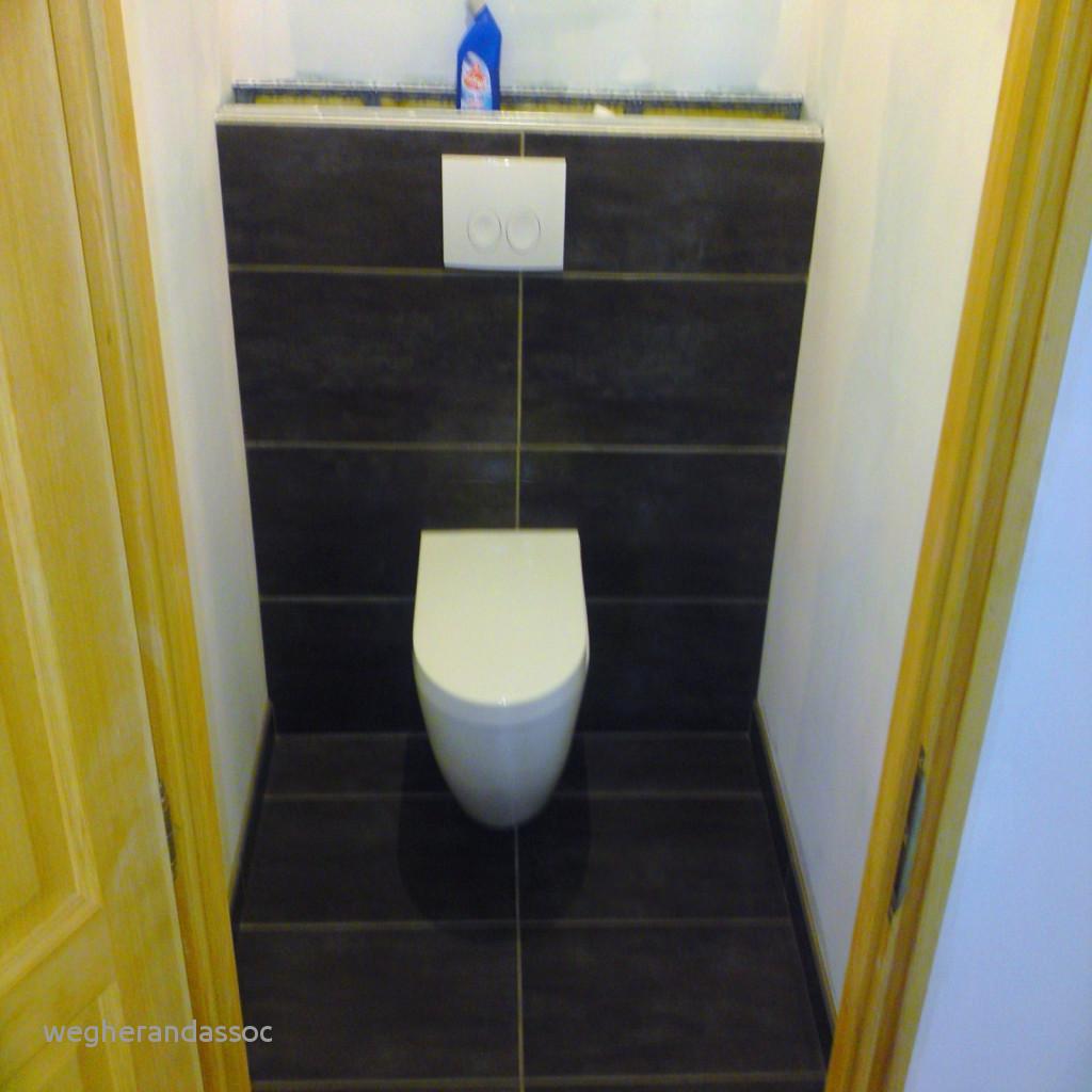 hauteur carrelage dans wc - atwebster.fr - maison et mobilier