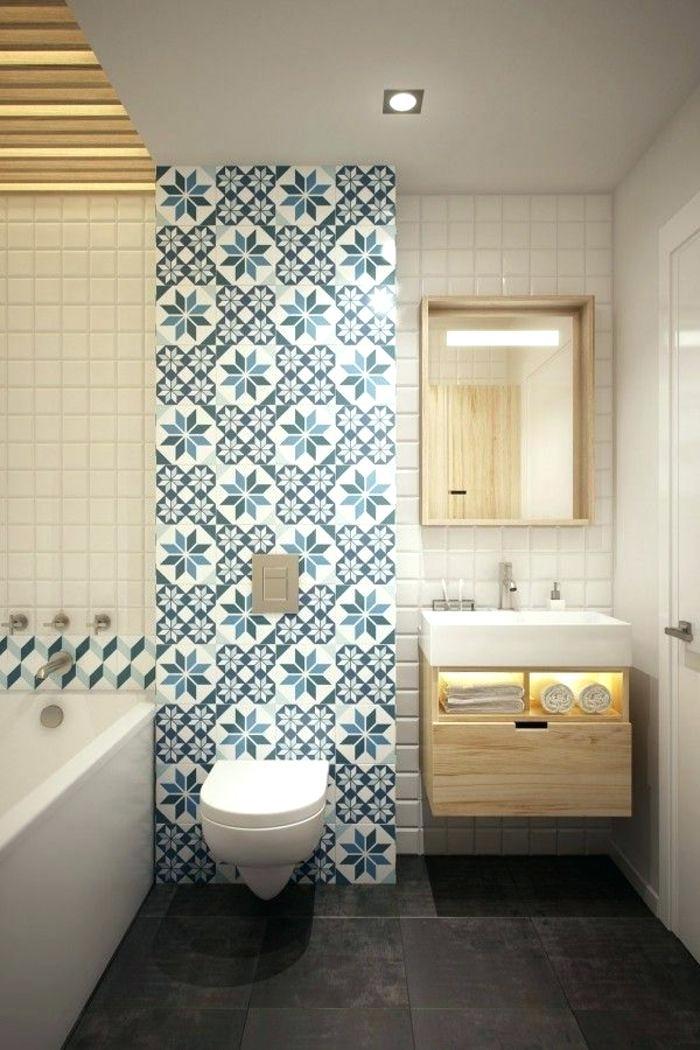 Carrelage salle de bain vintage