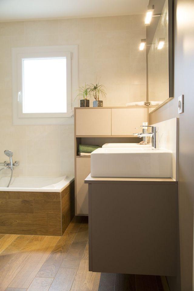 Carrelage salle de bain couleur creme - Atwebster.fr - Maison et mobilier