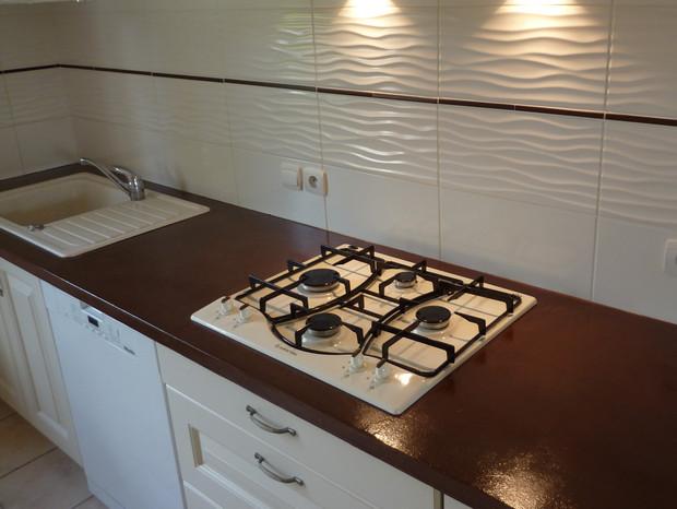 Renover plan de travail cuisine en carrelage atwebster - Renover plan de travail cuisine carrele ...