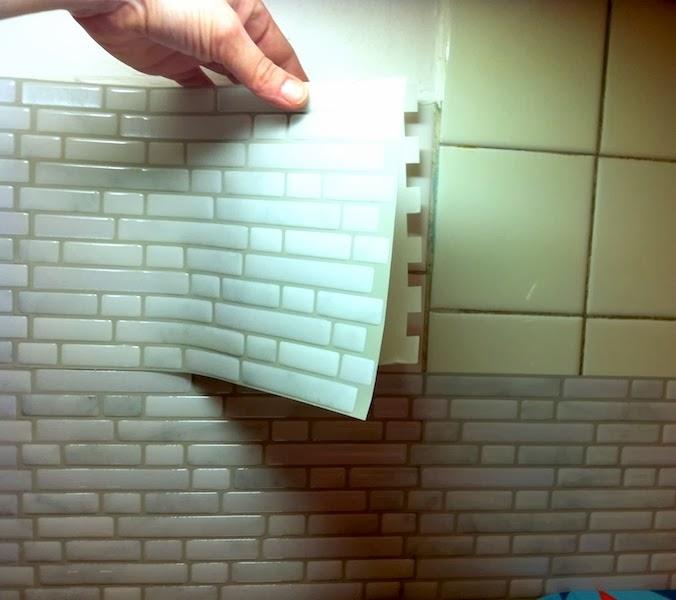 Carrelage adhesif mural salle de bain pas cher atwebster - Mobilier de salle de bain pas cher ...