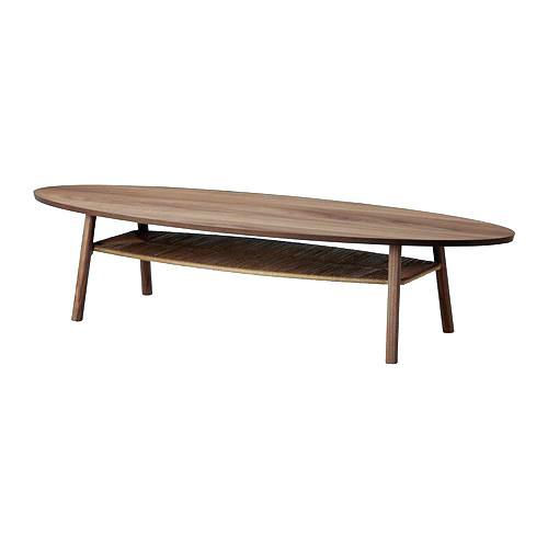 Table basse vintage scandinave ikea
