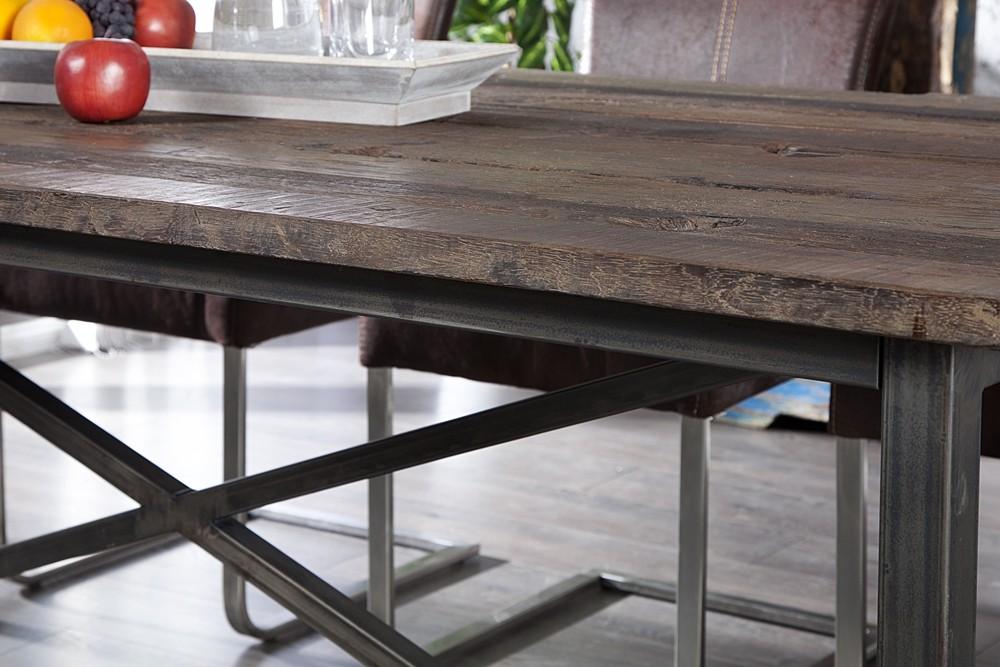 Table De Cuisine Bois Et Fer Atwebsterfr Maison Et Mobilier