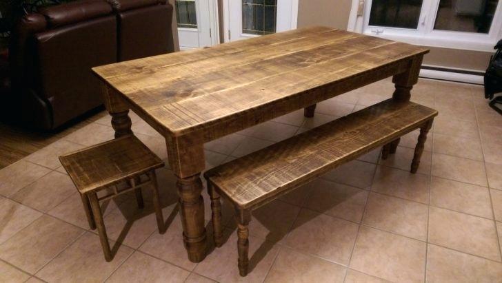 Ensemble de table de cuisine en bois atwebster maison et