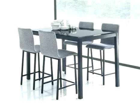 Table haute avec tabouret pour cuisine Table haute avec tabouret pour cuisine