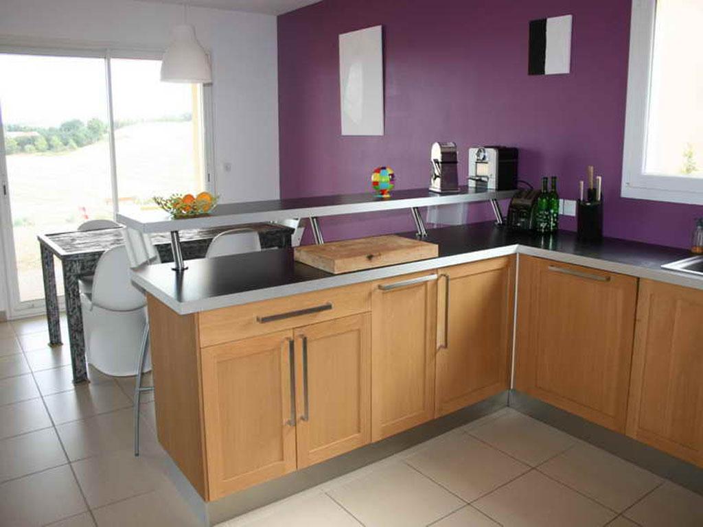 table bar pour cuisine ouverte - atwebster.fr - maison et mobilier