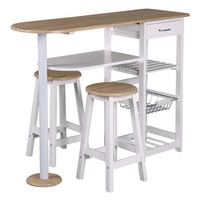 Table haute pour cuisine avec tabouret Table haute avec tabouret pour cuisine