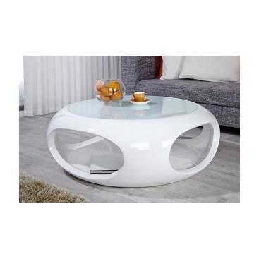Table basse ronde de salon