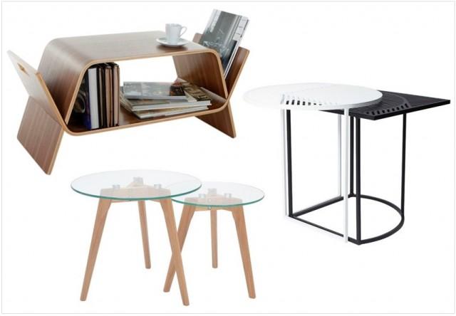 Table Basse Gigogne Verre Et Bois Atwebsterfr Maison Et Mobilier