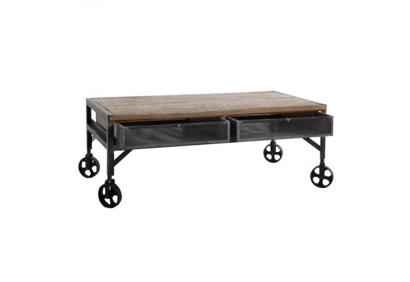 Roulette pour table basse industrielle