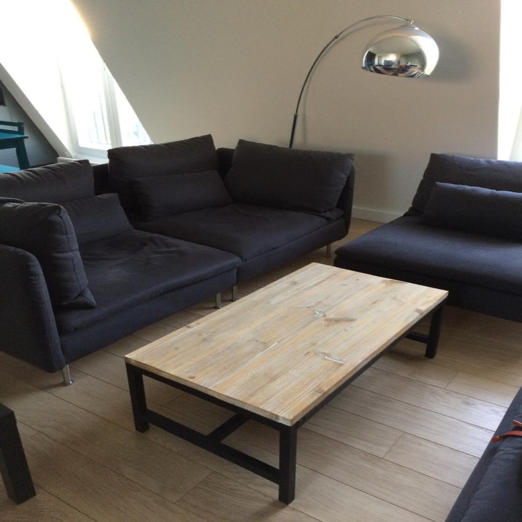Achat table basse avec pouf maison et mobilier - Cuisine darty modele sorbonne ...