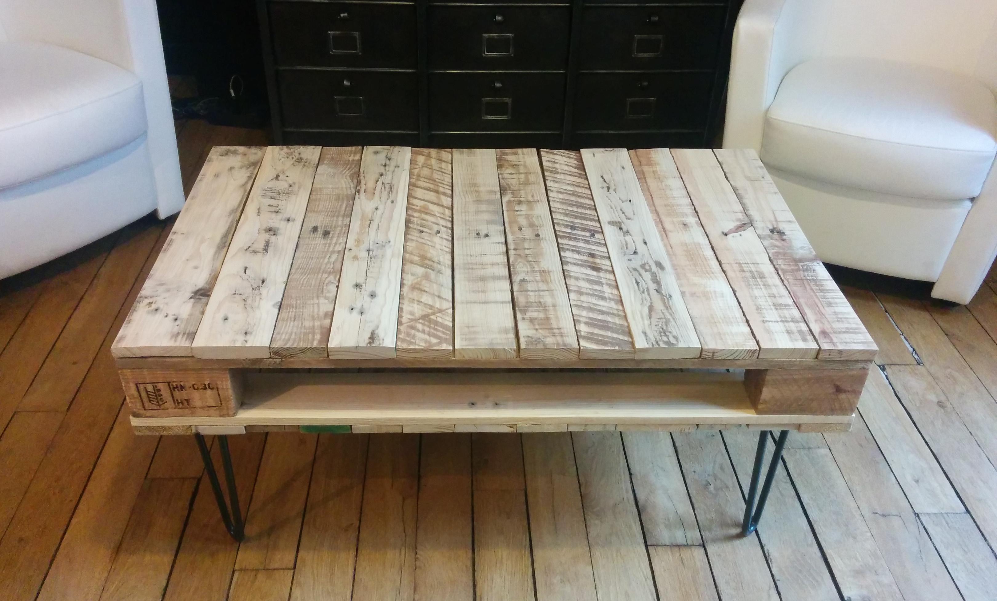 1eb80645b0e80f Acheter table basse palette bois - Atwebster.fr - Maison et mobilier