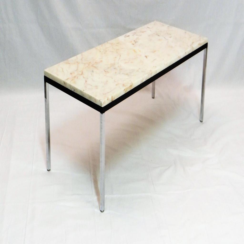 table basse en marbre knoll maison et. Black Bedroom Furniture Sets. Home Design Ideas