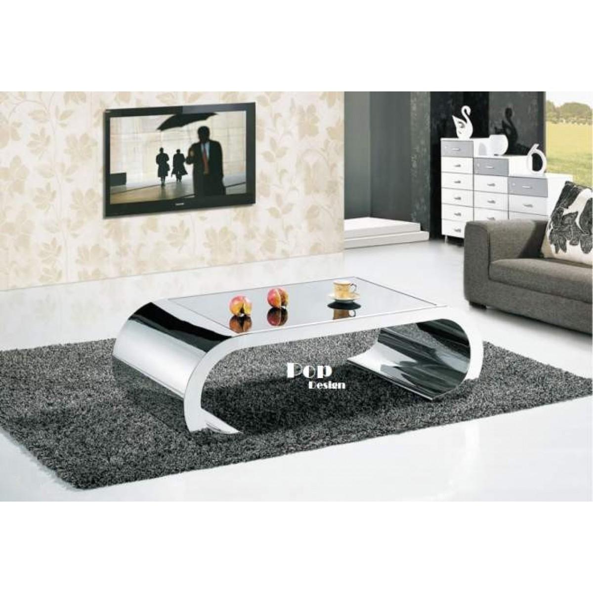 Table Basse Design En Verre Italien Atwebsterfr Maison Et Mobilier