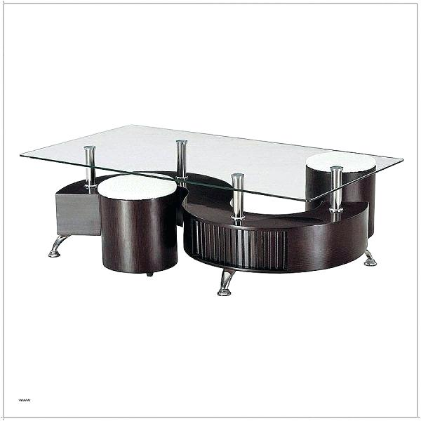Table basse ronde confo