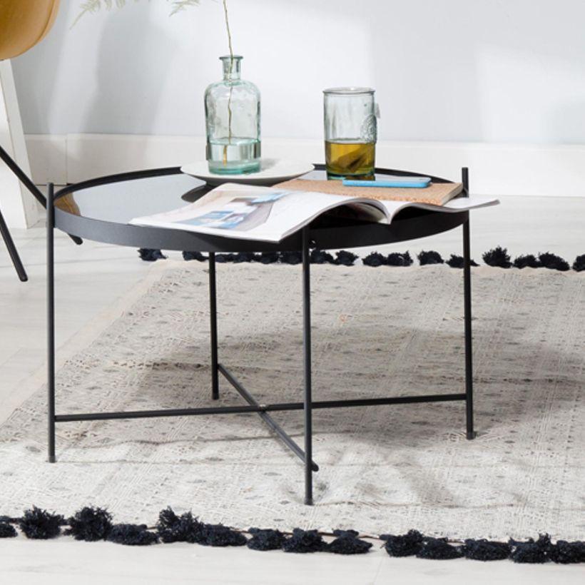 Table Basse Verre Boule Marbre Atwebsterfr Maison Et Mobilier