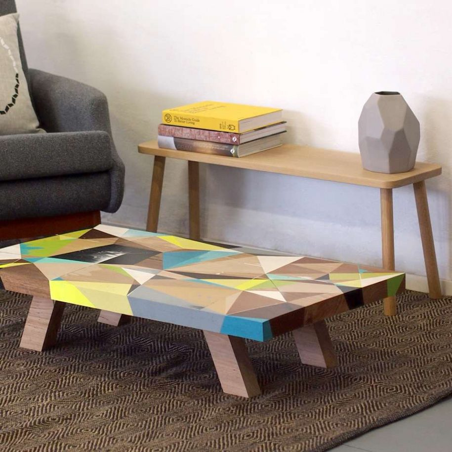 table basse scandinave color e maison et. Black Bedroom Furniture Sets. Home Design Ideas