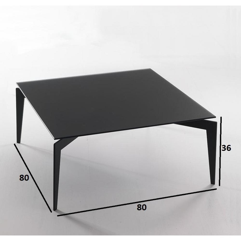 Modele armoire de cuisine contemporaine - Table basse verre noir ...