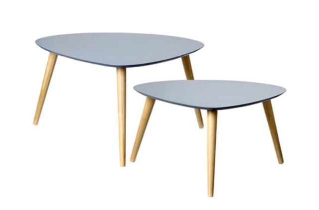 Table basse vintage grise - Atwebster.fr - Maison et mobilier