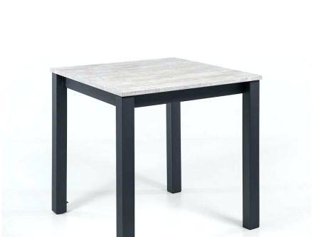 table de cuisine carr e avec rallonge. Black Bedroom Furniture Sets. Home Design Ideas