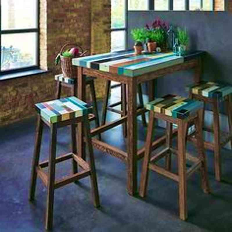 Table bar cuisine alinea maison et mobilier - Table haute cuisine alinea ...