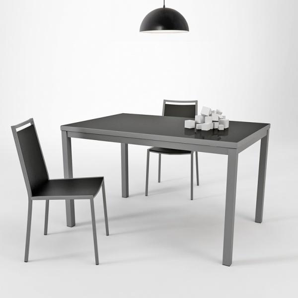Table De Cuisine Verre Et Bois Atwebster Fr Maison Et Mobilier