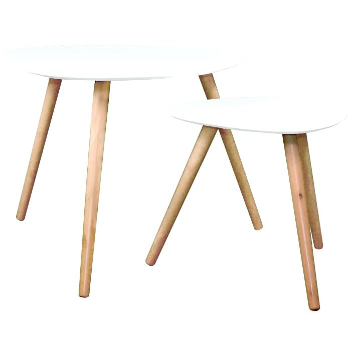 Table Basse Gigogne Scandinave Pas Cher Atwebsterfr Maison Et