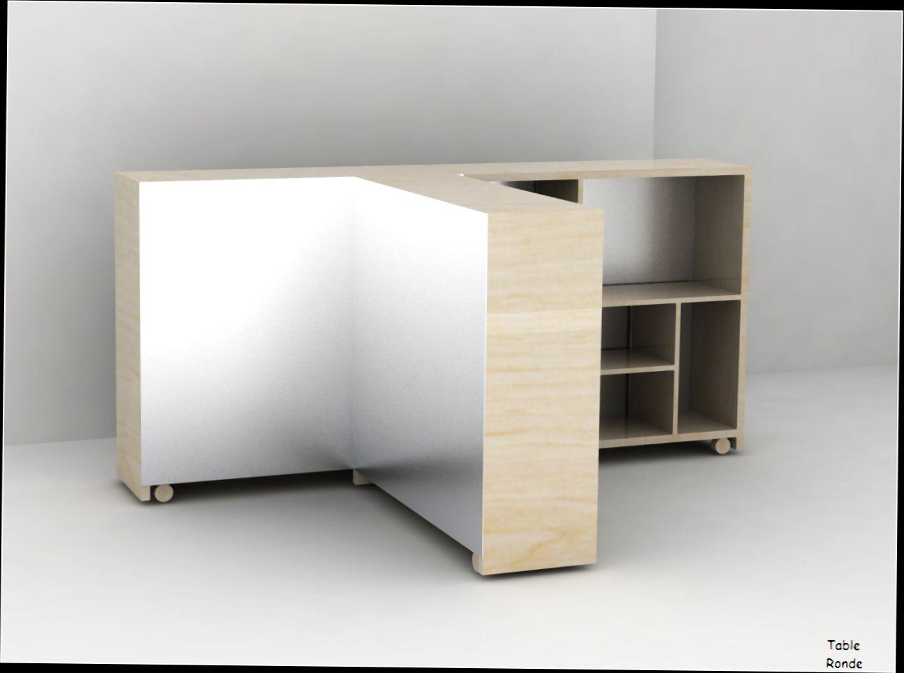 Table haute avec rangement conforama - Atwebster.fr - Maison et mobilier