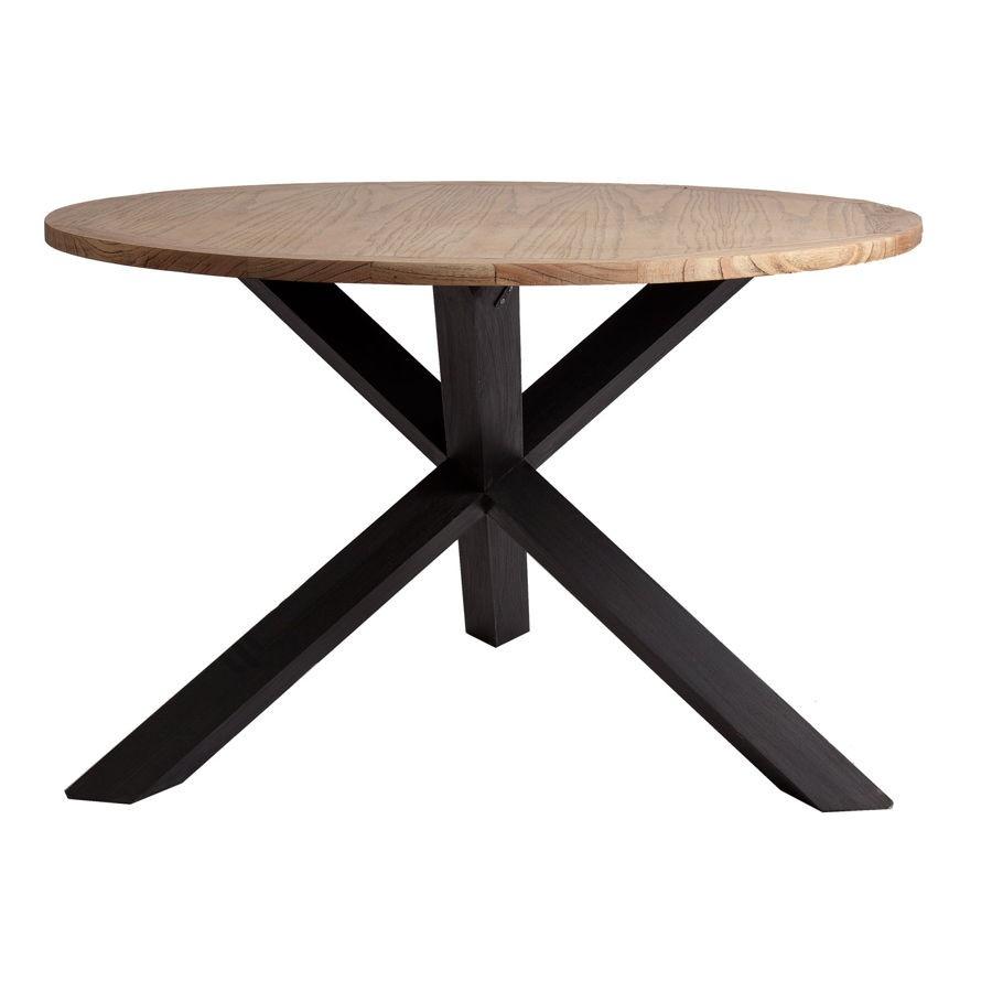 table basse ronde esprit scandinave. Black Bedroom Furniture Sets. Home Design Ideas