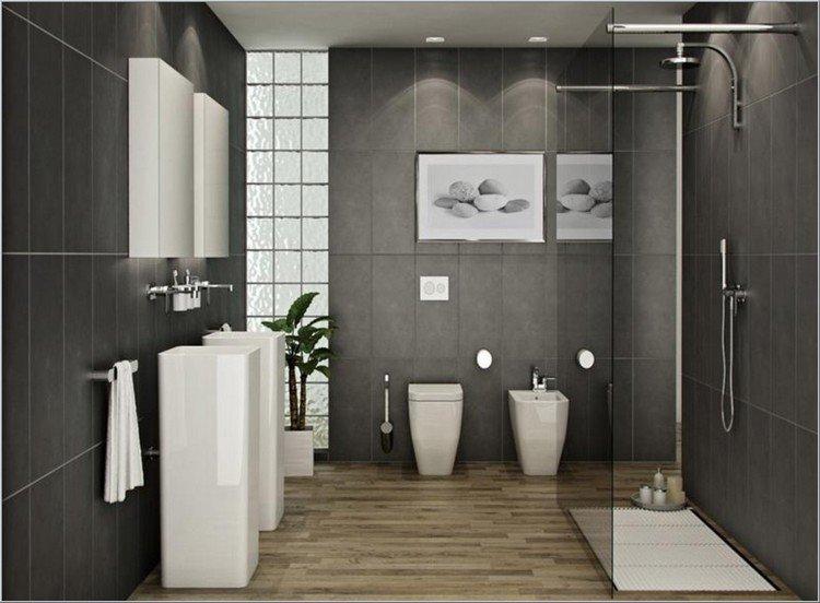 Idee carrelage salle de bain zen - Atwebster.fr - Maison et mobilier