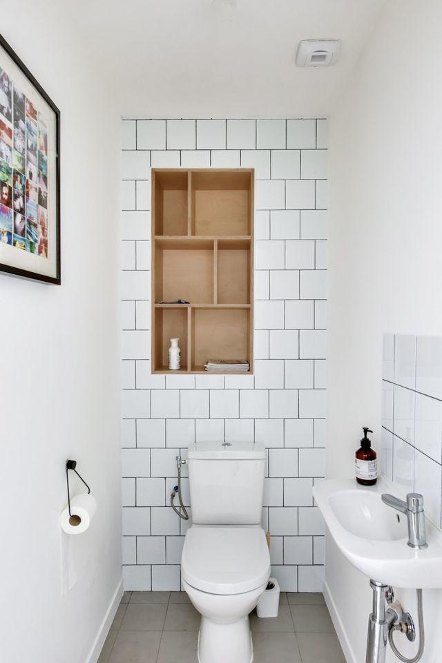 Carrelage mural blanc wc maison et mobilier Carrelage mural pour wc